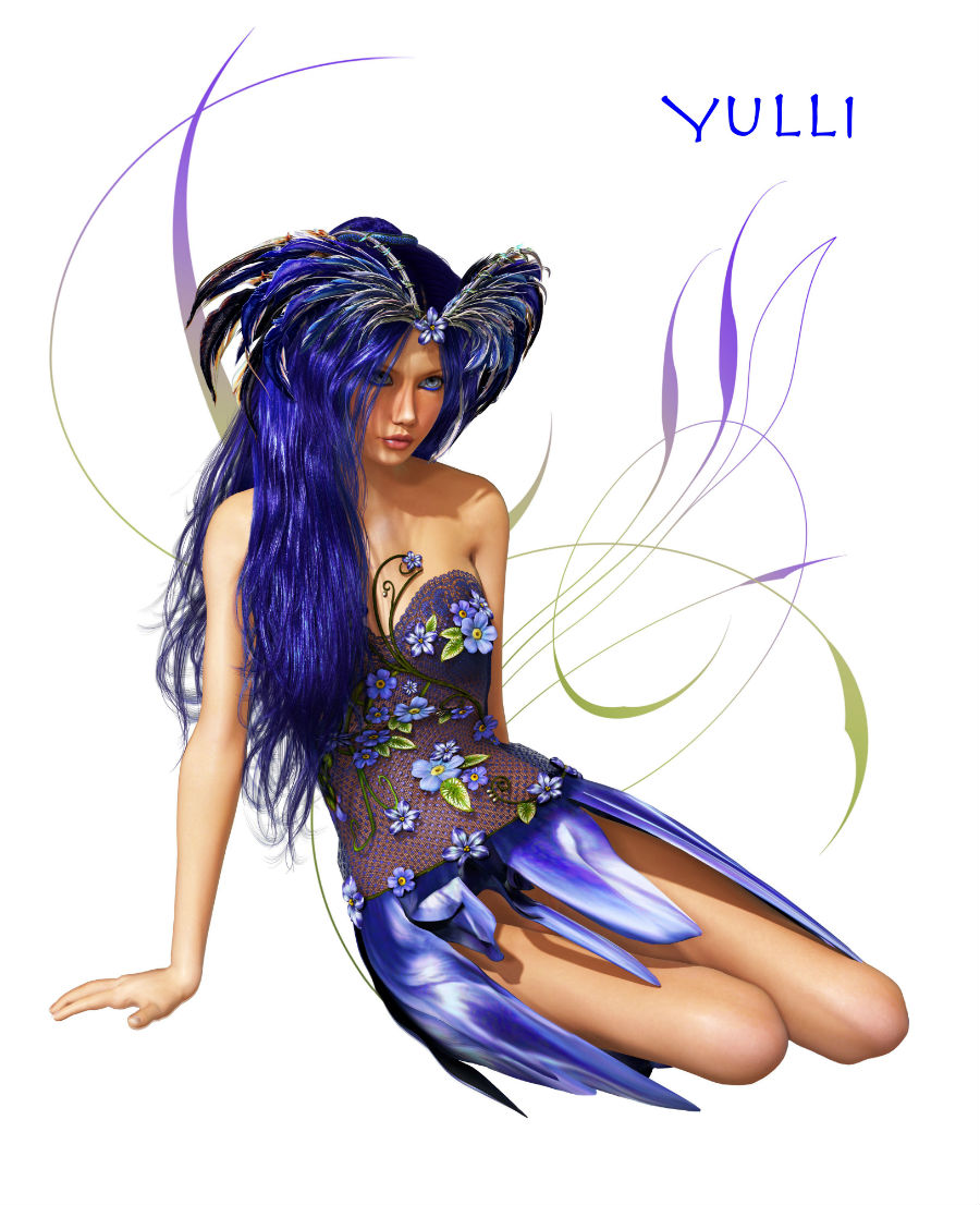 FEMALE FAIRY WISH GRANTER YULLI - fairy magick