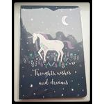 WISHES & WORRIES BOOK OF SHADOWS - UNICORN
